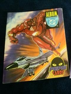 Album Pepsi Cards Dc Completo!!!