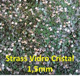 Strass Vidro Transparente 1,5mm Com 1.000 Unid