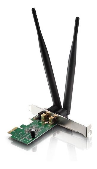Placa De Red Wifi Pci-e Simil Tp-link Wn881nd 2 Ant