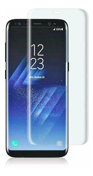 Mica Cristal Templado H9 0.03mm Curva Galaxy S7 Edge S8 S9 Plus + De Gogo Electronics