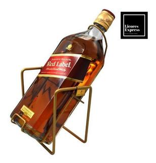 Whisky Johnnie Walker Etiqueta Roja 3 Litros