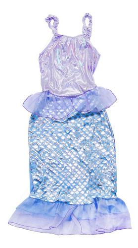 Disfraz Infantil De Sirena Todos Los Talles