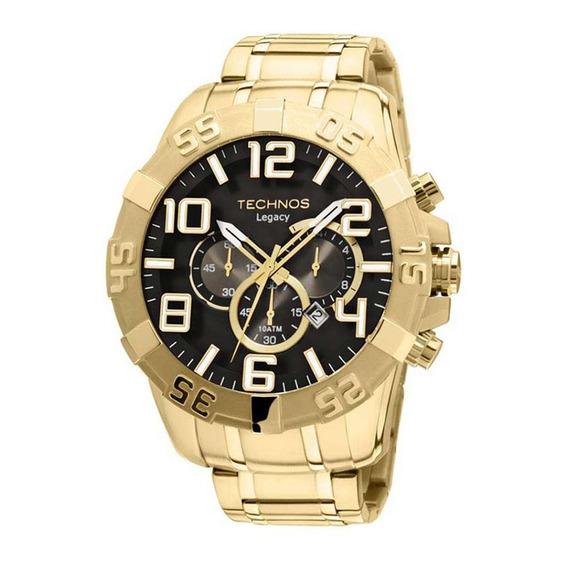 Relógio Technos Classic Legacy Os20im/4p Dourado