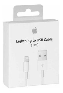 Cable Usb Lightning Apple 1m iPhone iPad iPod
