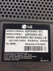 Placa Circuito P/ Tv Plasma Lg 42px4rv-mc - 5d31419mn007a012