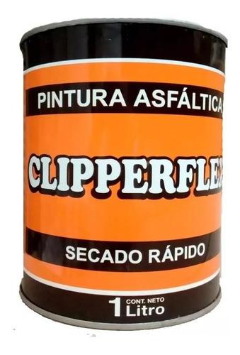 Pintura Asfaltica Clipperflex Base Solvente X 1 Litro Mm