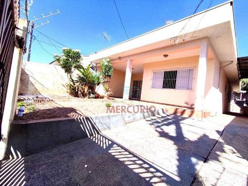 Casa Com 2 Dormitórios À Venda, 130 M² Por R$ 280.000,00 - Vila Falcão - Bauru/sp - Ca3305