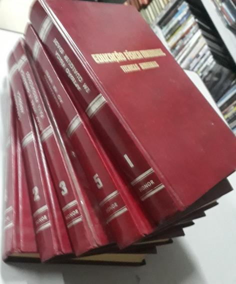 Educação Fisica Mundial - Tecnicas Modernas - 5 Livros