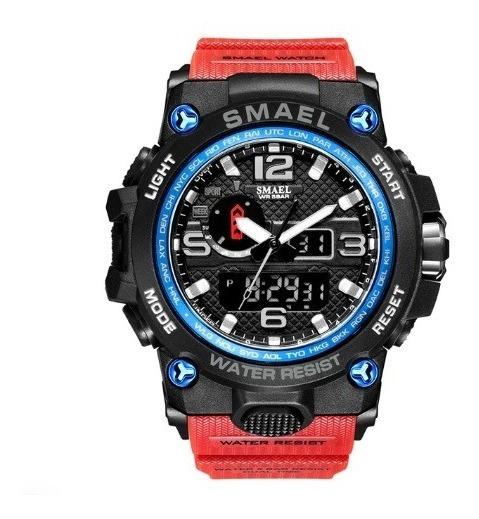 Relógio Masculino Esportivo Militar Smael 1545 + 5% Desconto