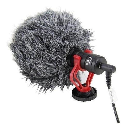 Microfone Boya BY-MM1 cardióide preto