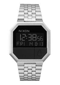 Re-run Nixon Reloj De Los Hombres, Negro, Un Tamaño