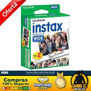 Film Carrete Para Fujifilm Instax Wide 300 200 Y 210