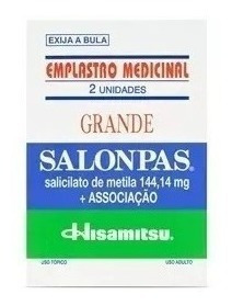 Emplastro Salonpas Grande 20x2 Unidades Dores Musculares
