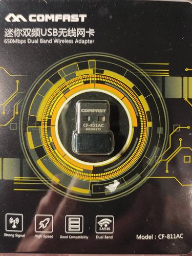Imagen 1 de 3 de Adaptador Wifi Usb Tarjeta Red Ac600 600mbps