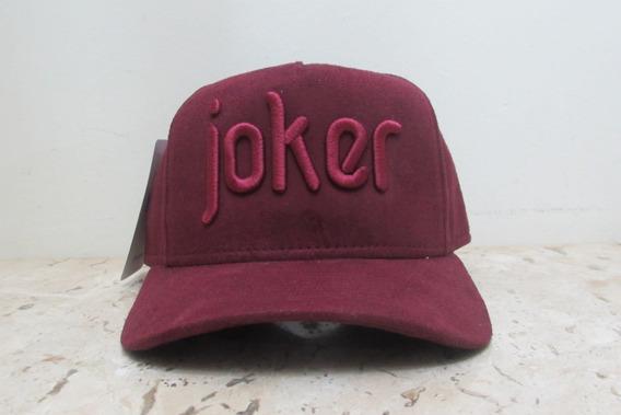 Boné Premium Joker - Vinho