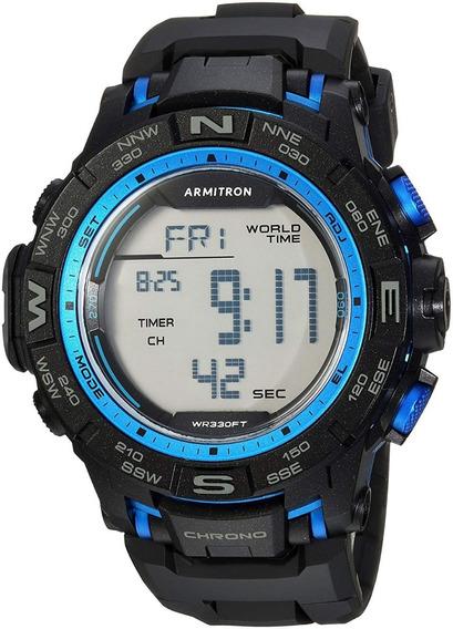 Armitron Pro Sport 40/8410bbk, Reloj Caballero Deportivo