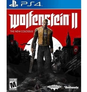 Wolfenstein 2 Ps4 The New Colossus Original Fisico Sellado Oferta!!