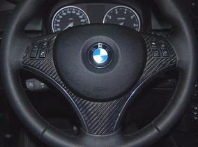 Inserto Volante Fibra De Carbon Bmw E90 E92 Gcp