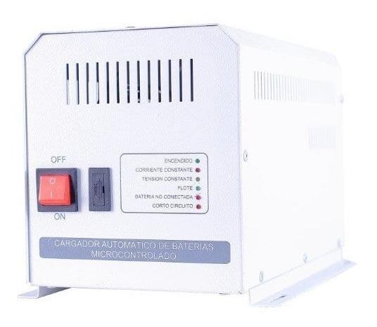 Cargador De Batería Mega Red 24v 20a Pcm2024