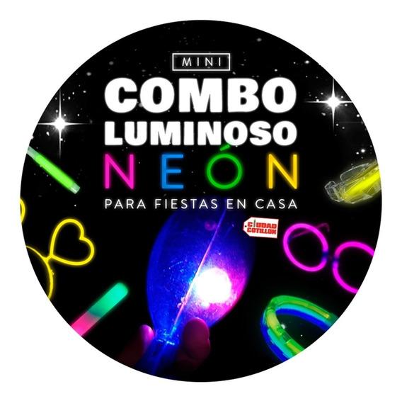 Mini Combo Kit Cotillón Luminoso Neón Led - Ciudad Cotillón