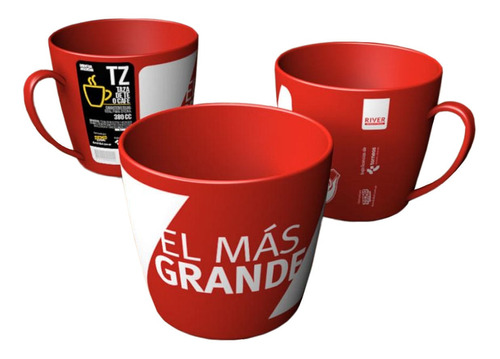 Imagen 1 de 1 de Taza Té Café River Plate Licencia Oficial Cuotas