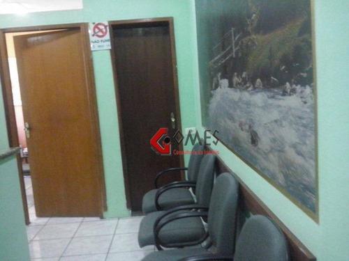 Imagem 1 de 11 de Sala  Comercial À Venda, Centro, São Bernardo Do Campo. - Sa0145