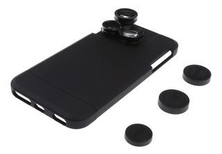 4 Em 1 Cobertura iPhone Caso Lente Câmera Grande Telefoto Ex