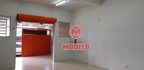 Salão Para Alugar, 125 M² Por R$ 1.800,00/mês - Jardim Petrópolis - Piracicaba/sp - Sl0453