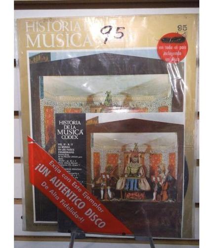 Historia De La Musica Codex 95 Fasiculo Y Disco Lp Acetato