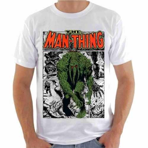 Camisa Camiseta, Monstro Do Pântano, Gibi Série Quadrinhos
