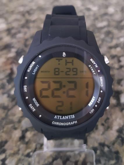 Relógio Atlantis Digital Masculino Esportivo Envio Imediato