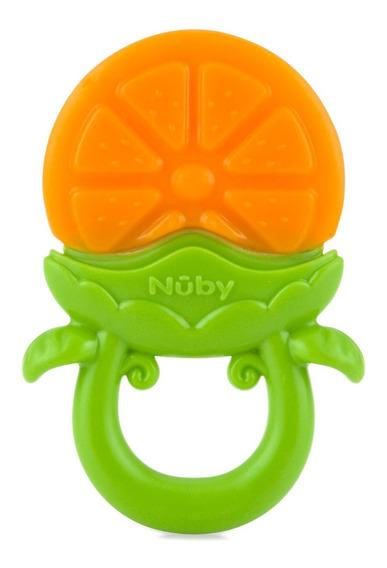 Mordedor Para Bebê Texturizado Massageador Nûby Frutas