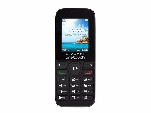 Alcatel 1050/52 Teclado Grande Y Sms Nuevo Libre Liberado