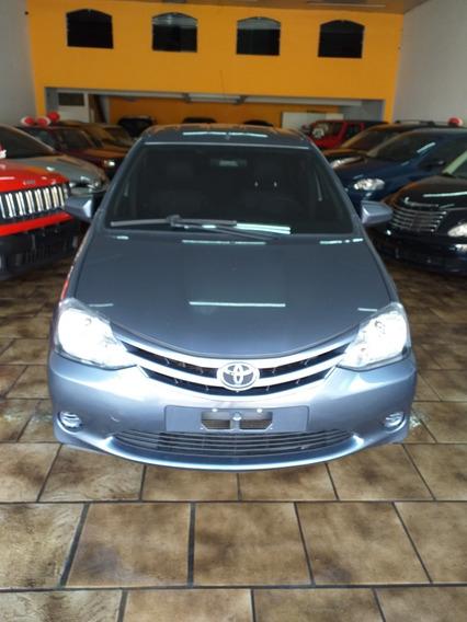 Toyota Etios 1.5 16v Xs 4p 2015 Cinza