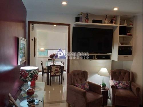 Imagem 1 de 20 de Apartamento Em Ipanema, Quadra Da Praia, Original 1 Quarto Transformado Em 2 Quartos - 3224