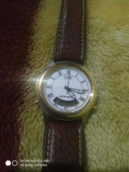Relógio Citizen Rarissimo Ler Anuncio