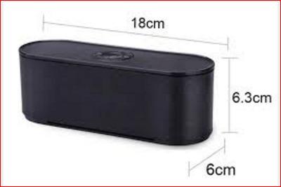 Caixa De Som Radio Bluetooth Fm Cartão Tf Usb S207