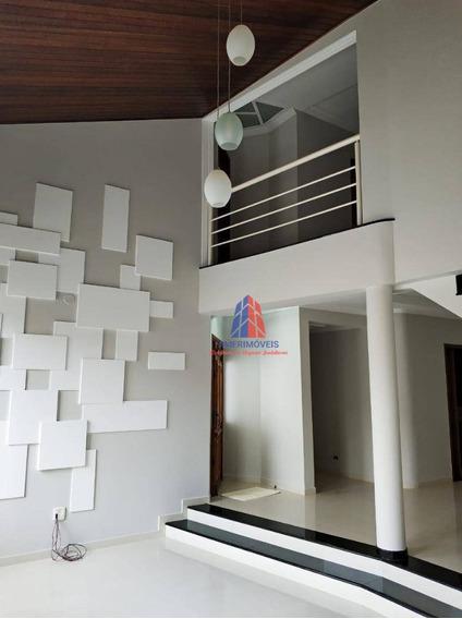 Sobrado Com 4 Dormitórios À Venda, 310 M² Por R$ 1.000.000,00 - Residencial Jacira - Americana/sp - So0196