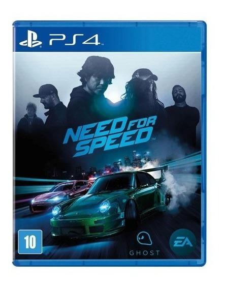Need For Speed - Ps4 - Mídia Física - Novo