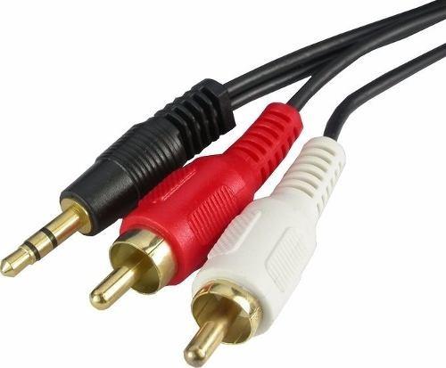 Cabo P2 Rca Para Audio 1,5 M