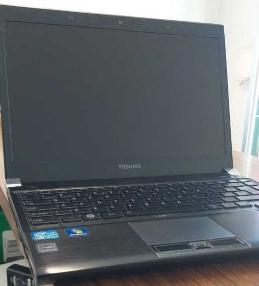Notebook Toshiba Portage R830 Intel Core I5-2520m 2ª Geração Hd Ssd 120gb 4gb Ddr3 Biometria Webcam Usb 3.0 Hdmi