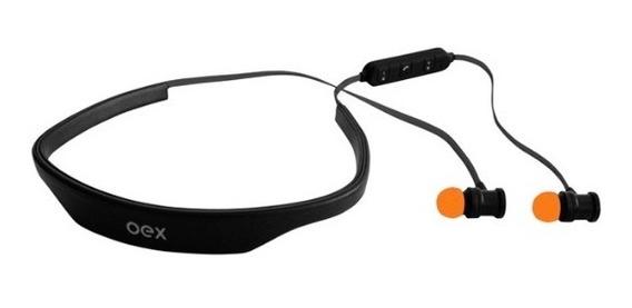 Fone De Ouvido Headset Bluetooth Recarregável Preto