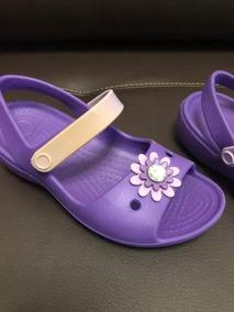 Sandalia Crocs Com Daisy Flower - Original - Pronta Entrega