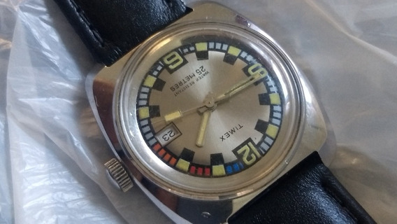 Relógio De Mergulho Timex A Corda Manual