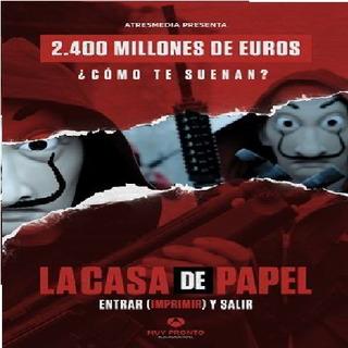 Serie Completa De La Casa De Papel Con La Temporada 2020