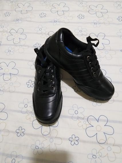 Zapatos Negros Niños Y/o Hombres