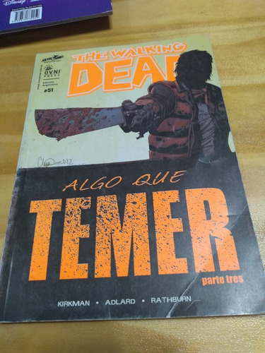 The Walking Dead #51. Algo Que Temer. Parte 3 - Ovni - U