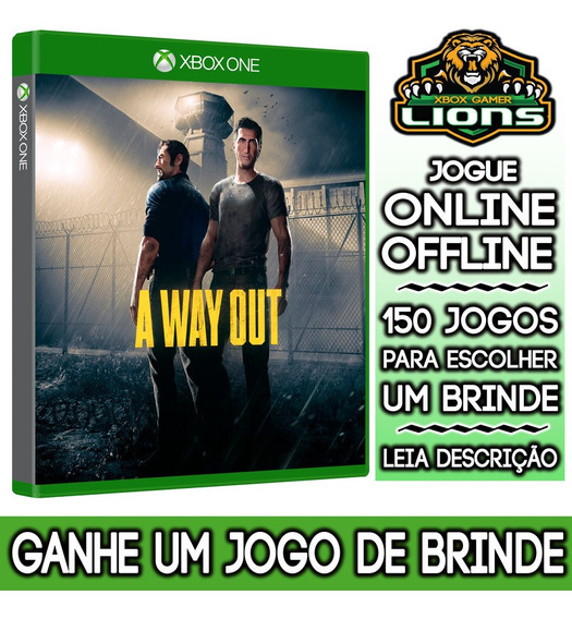 A Way Out Xbox One + Brinde
