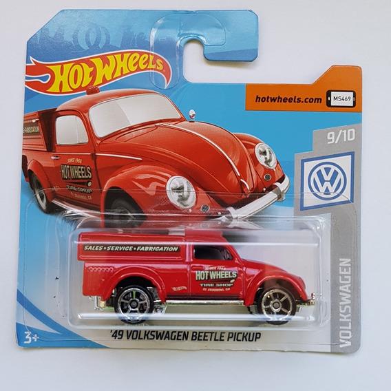 Hot Wheels 49 Volkswagen Vw Beetle Fusca Pickup 2019