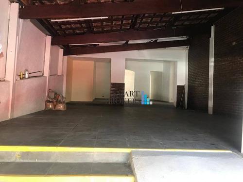 Casa Comercial Para Venda Na Penha Com 180 Metros - Ca0034